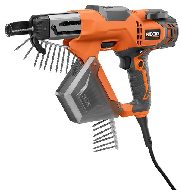 "RIDGID® Model #ZRR6791, 1/4"" AC Collated Screw Gun 