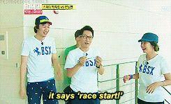 Ji suk Jin out = race start. Lololol