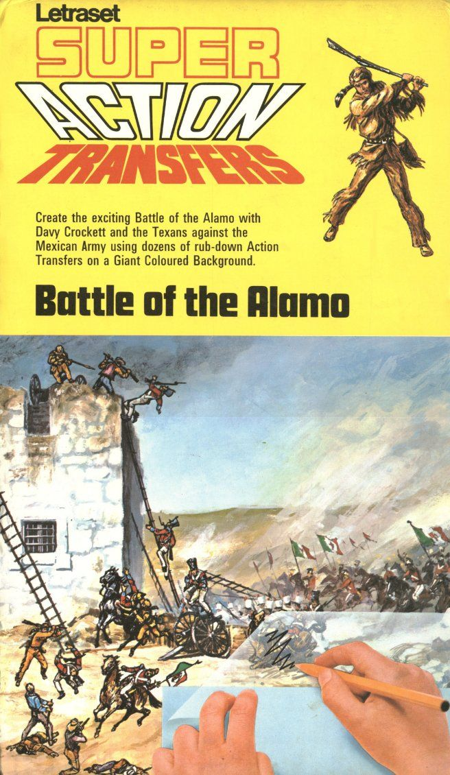 Action Transfers - Battle of the Alamo.