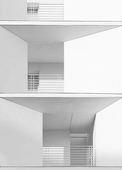 archi white building