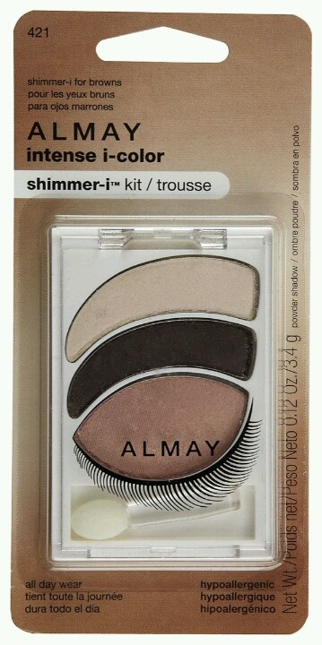 Dear Pinner, Almay Eyeshadow! They've made this fool proof, just remember to always blend well! Or you'll look like a raccoon. Select your eye color and pick which pallet you'd like.  Love, Abby <3