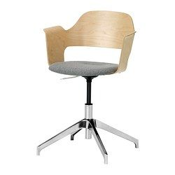 IKEA - FJÄLLBERGET, Conference chair,  , , You sit comfortably since the chair is adjustable in height.The wool seat will stand up to years of wear and tear and is naturally soil repellent.The molded high resilience foam provides great comfort that will last for years.