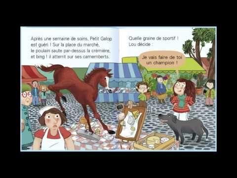 Les animaux de Lou : Vole, Petit Galop ! - Histoire pour enfants - Dokéo TV - YouTube