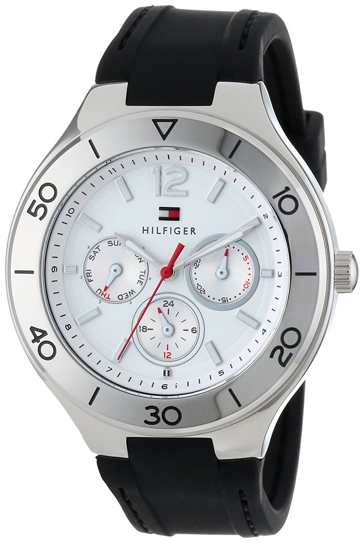 Tommy Hilfiger Women's 1781332 Sport Luxury Multi-Eye and Stainless Steel Bezel Watch *** More info could be found at the image url.