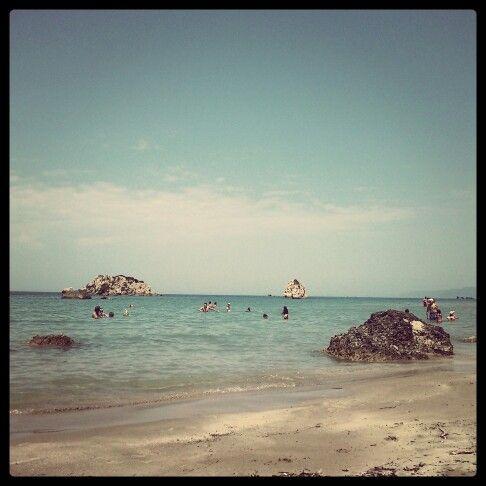 Corfu prasoudi beach