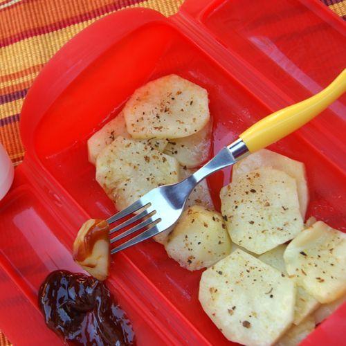 Patatas barbacoa   Estuches y moldes Lekue a la venta aquí: http://www.cornergp.com/tienda?bus=lekue