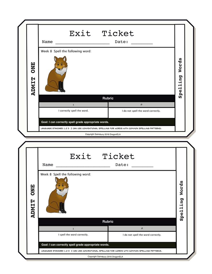 23 best Exit Tickets images on Pinterest Exit tickets, Formative - exit ticket template
