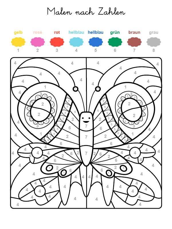 Malen Nach Zahlen Mandala