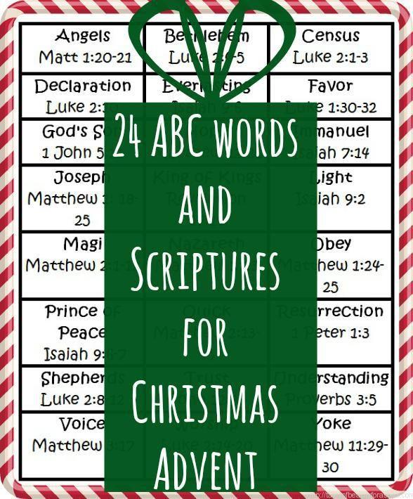 The 25+ best Advent scripture ideas on Pinterest