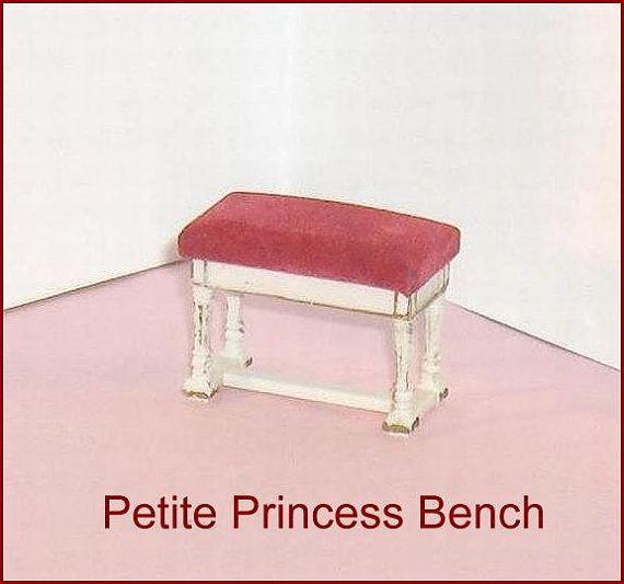 Piano Bench  Ideal Petite Princess  Doll House by EttasEmporium