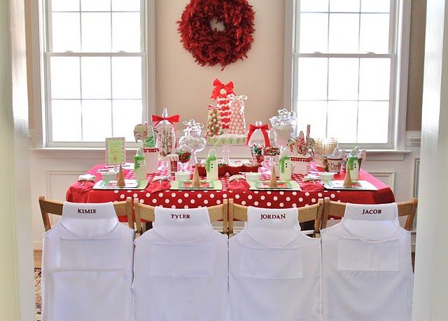 Christmas Candy Decorating.Holiday Parties, Kids Parties, Christmas Tables, Kids Christmas Parties, Candies Coats, Parties Ideas, Christmas Games, Kid Parties, Party Ideas