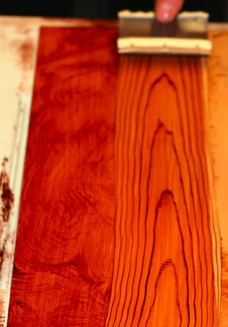 Oak Colored Nightstands