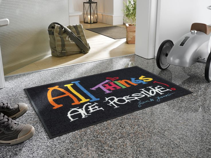 #Door mat All things are possible