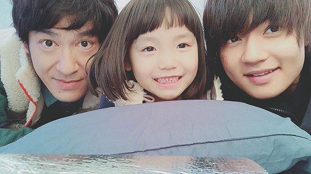 WEBSTA @ sanohayato_milk - パパ、くるみオールアップ!本当に仲良くさせていただきました 3か月、ありがとうございました!! また一緒にお仕事したいなぁ〜☺️☺️ #佐野勇斗 #砂の塔 #和樹 #パパ #そらちゃん #MILK