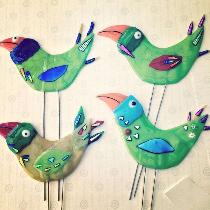 Birds - could put in planters.... could do with other images....