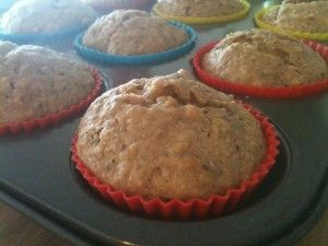 Muffins with chia seeds