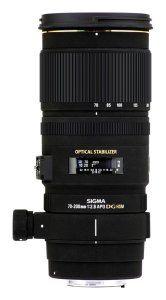 Amazon.com: Sigma 70-200mm f/2.8 APO EX DG HSM OS FLD Large Aperture Telephoto Zoom Lens for Nikon Digital DSLR Camera: Electronics