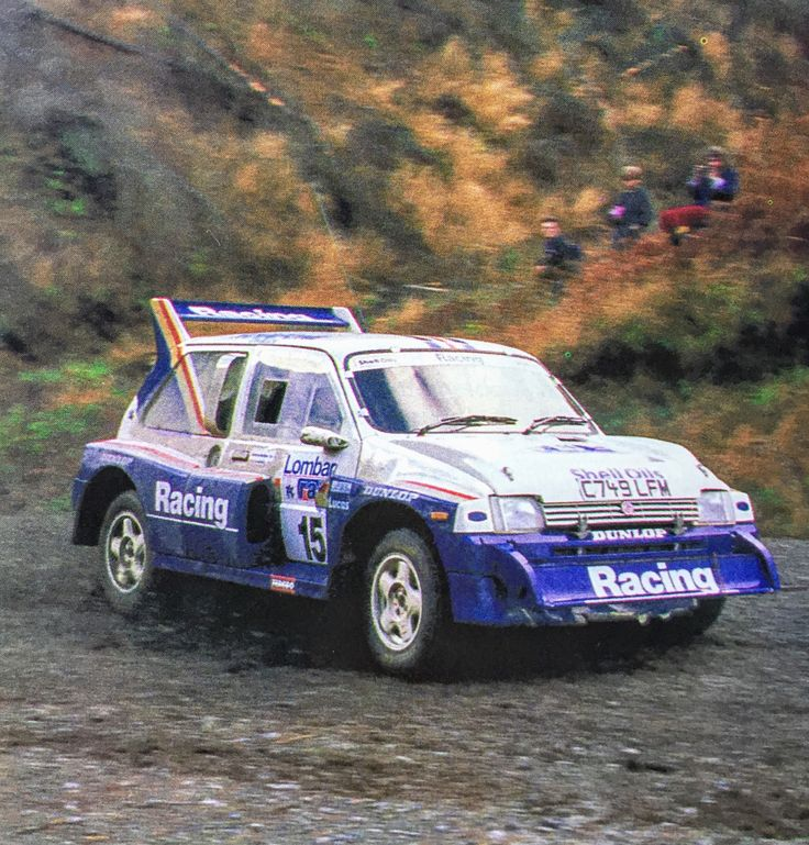 Metro 6R4 Jimmy McRae Rally RAC 1986