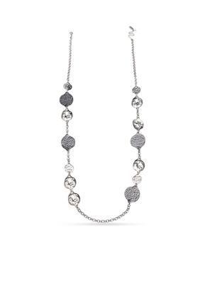 Jules B Women Two-Tone Purple Rain Long Chain Necklace - Gray - One Size
