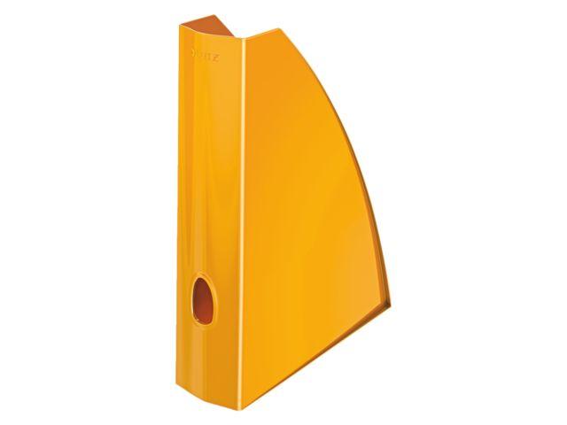 Oranje tijdschriftcassette van Leitz #DKVH