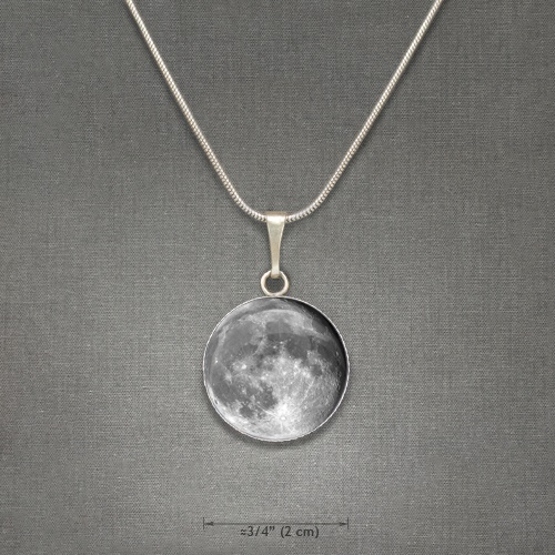The Moon.: Moon, Crafted Pendants, Gimmie, Beautifully Printed, Cancer Girl, Jewelry, 3 95 Uk, Necklace, Birthday Gifts