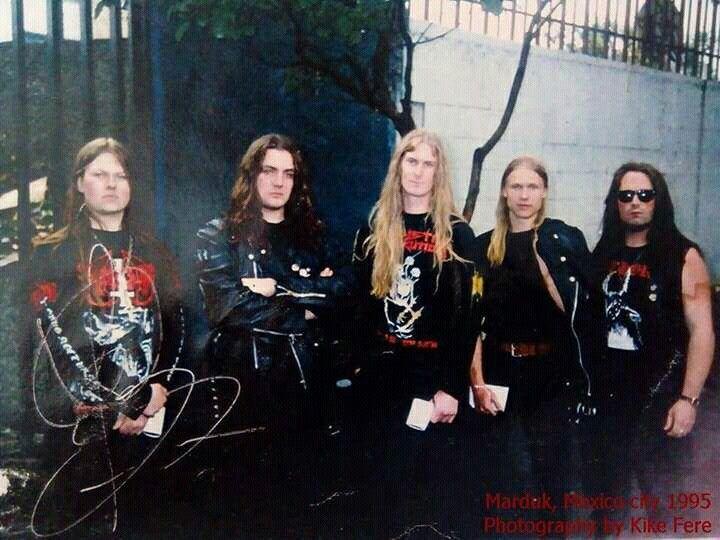 Marduk, Mexico city 1995