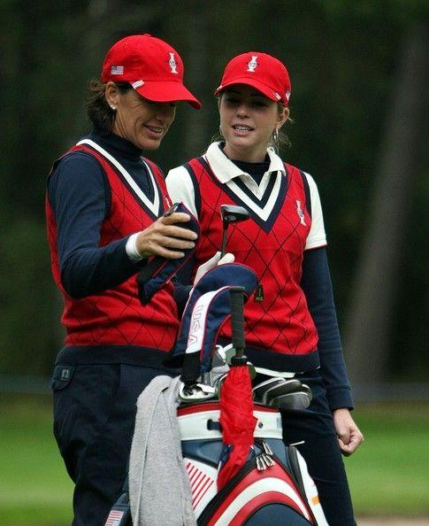 Paula Creamer & Juli Inkster- The Solheim Cup 2007 #SC13 #GoUSA