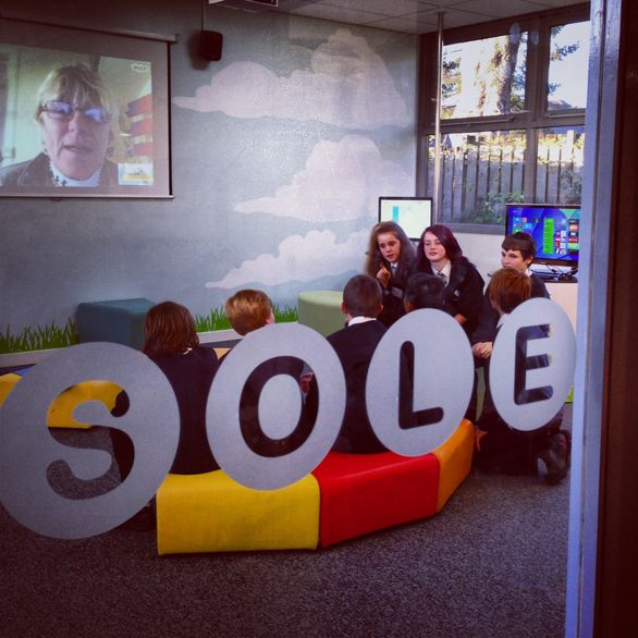"""SOLE - Self Organized Learning Environment.  """"A new vision of education that pairs the vast resources of the internet with children's innate sense of curiosity."""""""