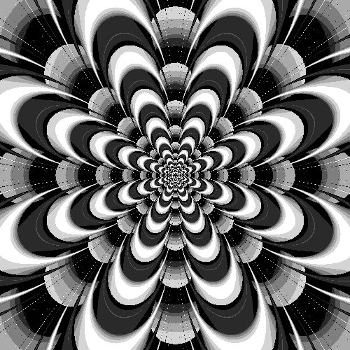 how to create layered animated optical illusions