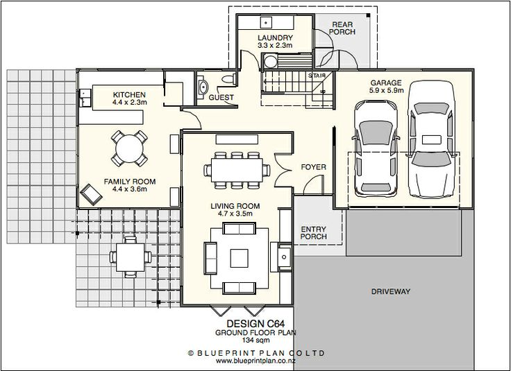 Stahl House Floor Plans With Dimensions Front