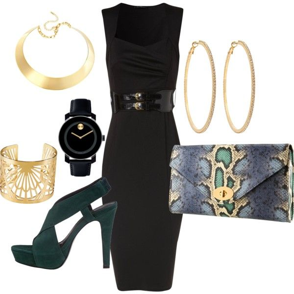 Cute Date Night Outfit featuring the LBD!!