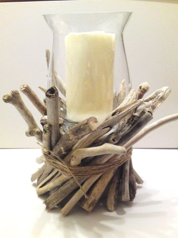 Driftwood Centerpiece Driftwood Candle Holder  by AMMOUDIA on Etsy, $90.00
