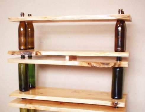 diy furniture | Booze it Up! 13 Rad Recycled Bottle Crafts &