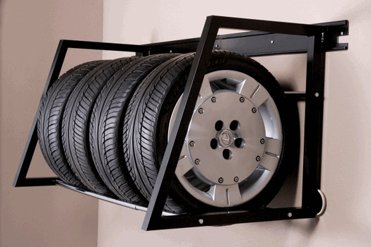 Adjustable Tire Storage Rack