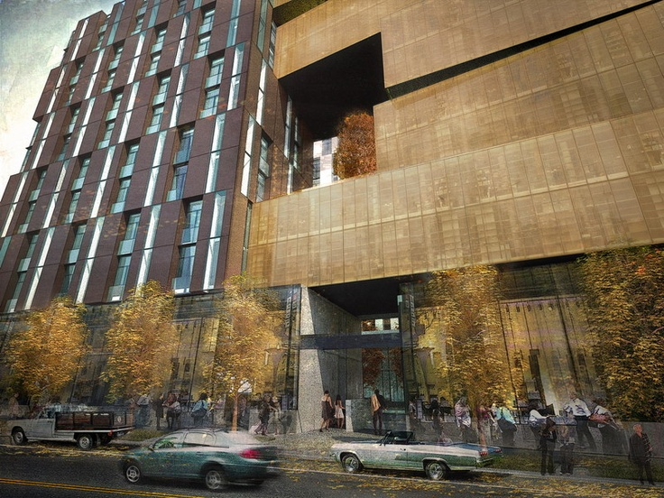 Olson Kundig Architects - Projects - 1900 First Avenue Hotel and Apartments
