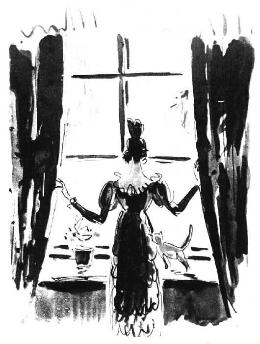 Иллюстрация к роману в стихах А. С. Пушкина