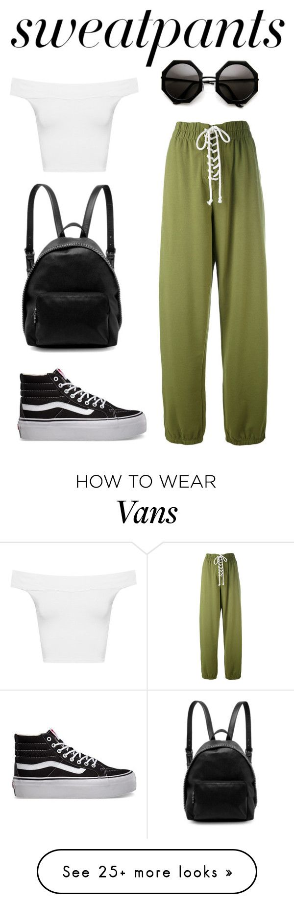 """""""Chill"""" by annieb0bannie on Polyvore featuring Puma, WearAll, Vans and STELLA McCARTNEY"""