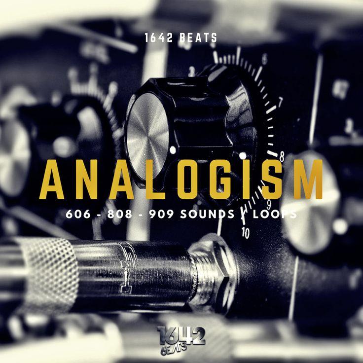 NEW! ANALOGISM - 1642 Beats (24-Bit WAV LOOPS / SAMPLES) 606 808 909 Sounds #Unbranded