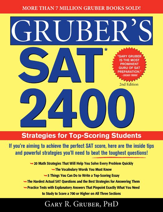 97 best standardized tests images on pinterest facts truths and grubers sat 2400 strategies for top scoring students http fandeluxe Images
