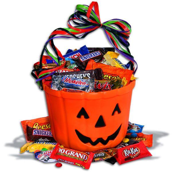 choc o lantern halloween gift basket - Halloween Gifts Kids