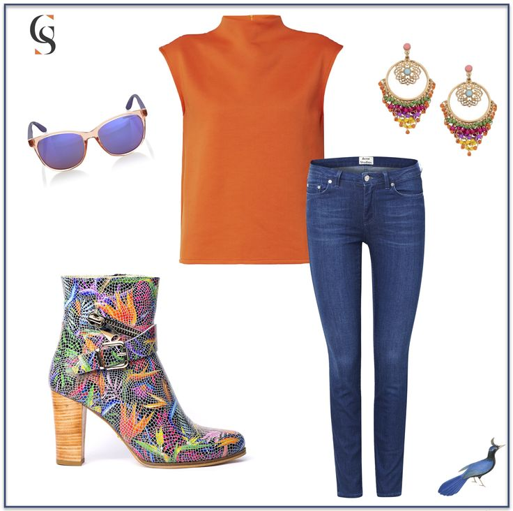 Ankle boot Bird of Paradise