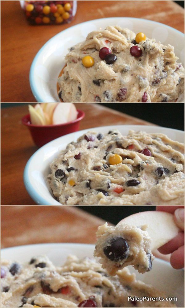 Monster Cookie Dough Dip - Paleo-ized {maybe try as a frosting!?}