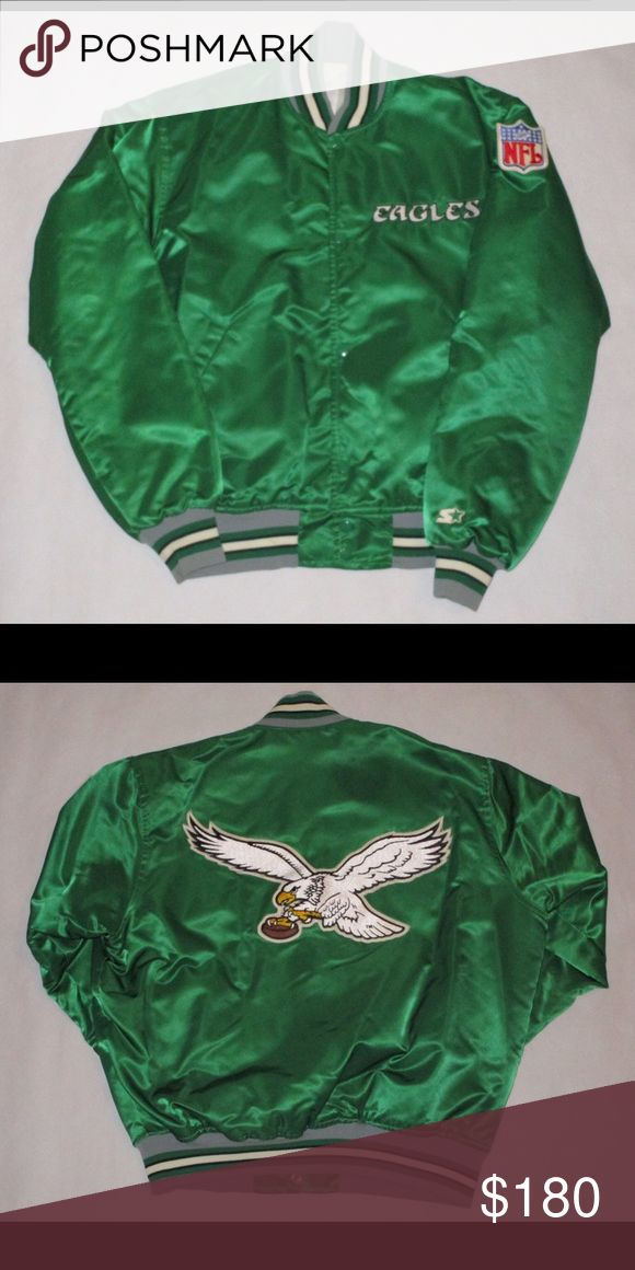 Vintage Starter Philadelphia Eagles Jacket Vintage Starter Philadelphia Eagles jacket in great condition!! Any questions or need more pics please don't hesitate to ask! Jackets & Coats
