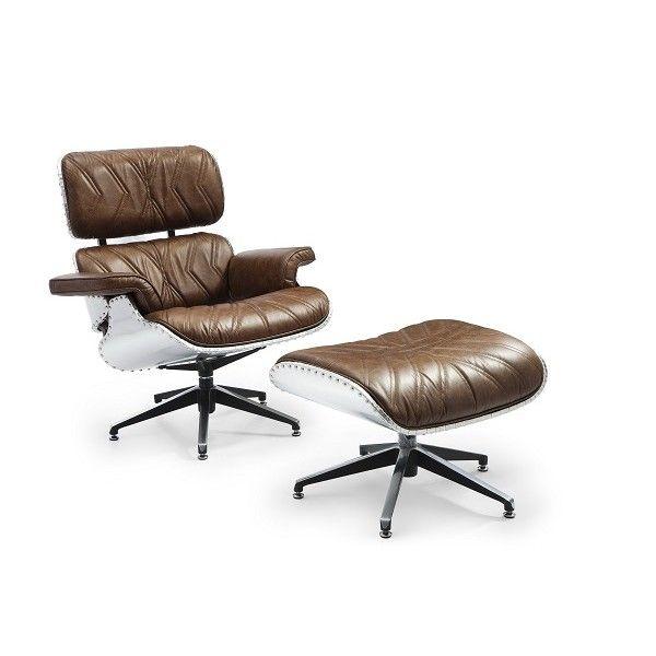 Кресло Aviator Eames Lounge and Ottoman