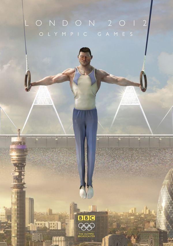 BBC Olympics 2012 - Stadium UK by Charlie Smith, via Behance