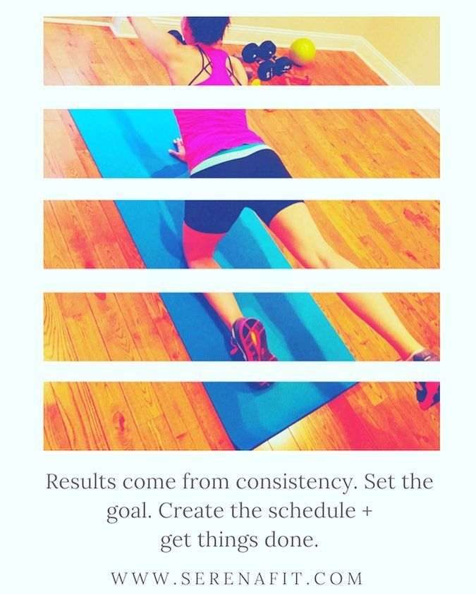 Consistency is numero uno when it comes to locking in long-term #results. You have to implement healthy #habits do your best to stay the course and stick with what is #good for you. Nothing will ever be perfect but we can create change with a little encouragement  time on our side. Things get easier once you commit to a lifetime of healthy living <3