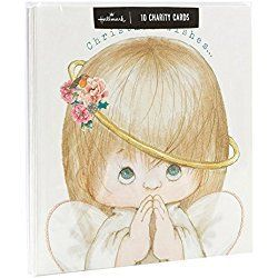 Pack of 10 Charity Christmas Cards - 'Baby Face' Design by Hallmark UK