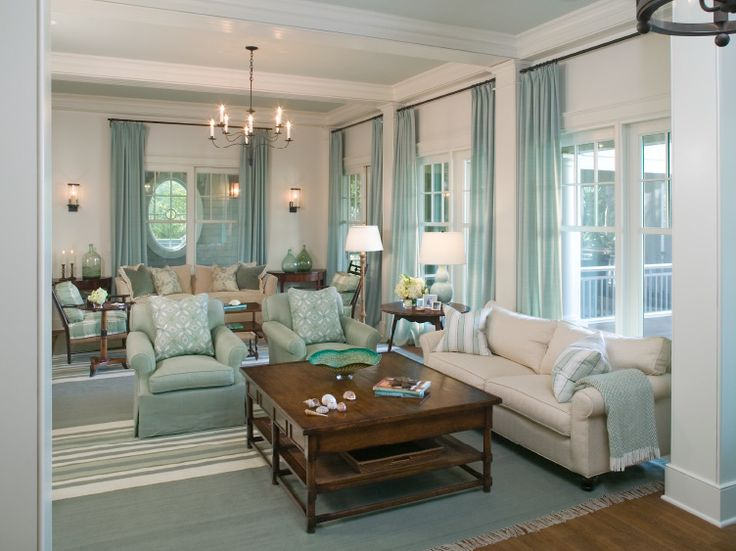 Elegant Charming Turquoise Interior Design From Tammy Conner
