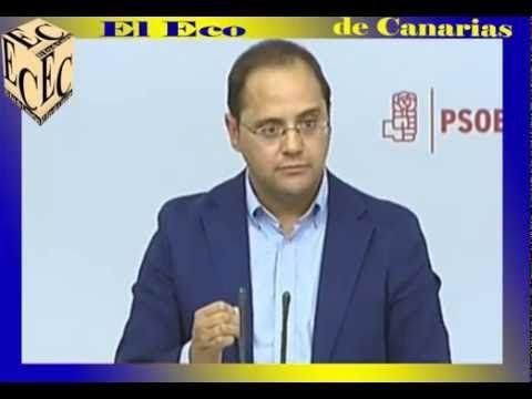Vídeo Rueda prensa Luena, dimisión masiva socialistas - El Eco de Canarias