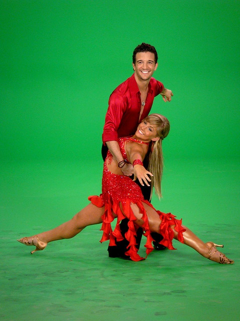 I love this pose: DWTS, with partner, Mark Ballas by ShawnJohnson.net, via Flickr